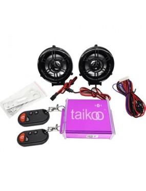MOTOSİKLET MP3 ÇALAR + ALARM SİYAH BLUTED (MHT00902)
