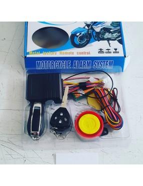 Motorsiklet alarm uzaktan çalıştırma özelliği