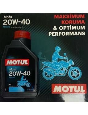 MOTUL 20W40 4T ( 1 LT ) (MTL2040)