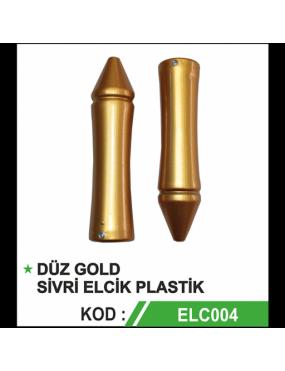 Yeni Model Gold Topuz Elcik Takımı PVC